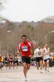 бегунки гонки холма большое горе вверх Стоковые Фотографии RF