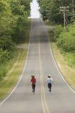 бегунки дороги сельские стоковая фотография rf