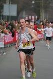 бегунки марафона группы Стоковые Изображения RF