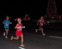 бегунки марафона honolulu Стоковое Изображение RF