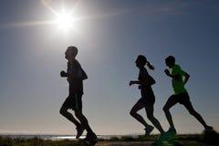 Бегунки, марафон Стоковые Фотографии RF