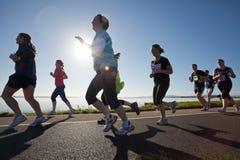 Бегунки, марафон Стоковые Изображения