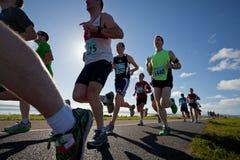 Бегунки, марафон Стоковые Фото
