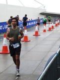 Бегунки на следе на Triathlon Mazda Лондон Стоковое фото RF
