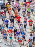 бегунки ontario ottawa марафона Канады Стоковое Фото