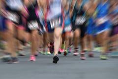 бегунки ontario ottawa марафона Канады стоковая фотография rf
