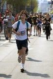 бегунок бега потехи Стоковые Изображения RF
