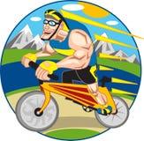 бегунок велосипеда Стоковое Изображение
