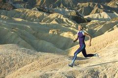 бегунок высоких гор Стоковая Фотография