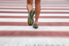 бегунок города Стоковое фото RF