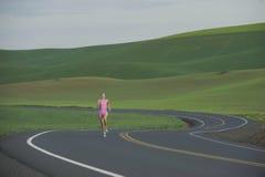 бегунок дороги сельский Стоковые Фотографии RF