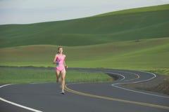 бегунок дороги сельский Стоковые Изображения RF