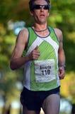бегунок марафона элиты мыжской Стоковое Фото