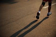 бегунок марафона Стоковые Изображения