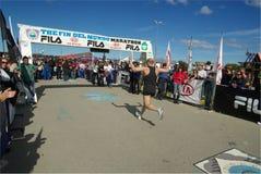 бегунок марафона Стоковая Фотография RF