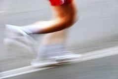 бегунок марафона Стоковые Фото