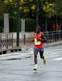 бегунок марафона athens Греции стоковые изображения rf
