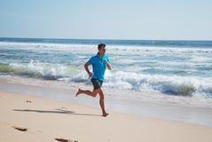 бегунок пляжа Стоковые Фотографии RF