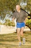 бегунок octogenarian спортсмена Стоковая Фотография RF