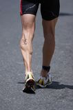 бегунок s мышцы икры Стоковая Фотография RF