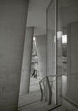 Бегуны в городе, Гамбурге Стоковое Изображение RF