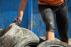 Бегуны гонки грязи Стоковое Фото