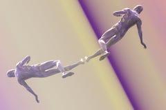 Бегун высокой технологии Стоковая Фотография RF