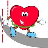 Бегун сердца Стоковая Фотография RF