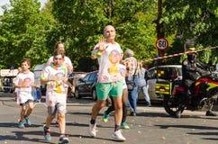 Бег Бухарест цвета Стоковая Фотография RF