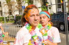Бег Бухарест цвета Стоковые Фото