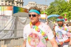Бег Бухарест цвета Стоковое Изображение RF
