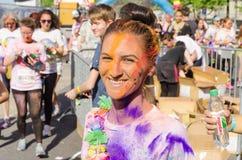 Бег Бухарест цвета Стоковые Фотографии RF