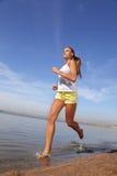бег девушки Стоковая Фотография RF