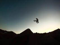 Бег захода солнца Стоковая Фотография RF