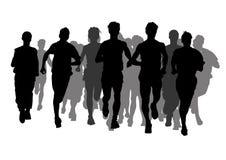 бег конкуренции Стоковое Изображение RF