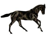 бег лошади иллюстрация вектора
