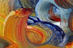 бег мастерства цветов Стоковое фото RF