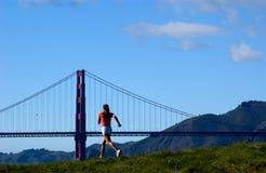 бег модели Стоковая Фотография