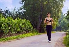 бег утра Стоковая Фотография RF