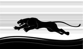 бег хищника Стоковая Фотография