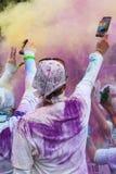 Бег цвета Чiкаго Стоковое Изображение RF