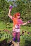 Бег цвета Стоковые Изображения RF
