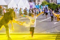 Бег цвета Стоковое фото RF
