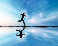 бег человека Стоковые Изображения