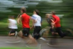 бег Стоковое фото RF