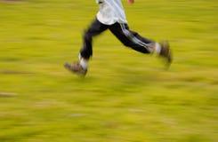 бег Стоковая Фотография