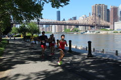 бег 10K Стоковое Фото