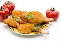 бедренные кости петрушки цыпленка Стоковое Фото