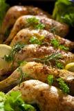 бедренные кости цыпленка стоковая фотография
