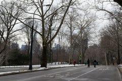 Бежать в Central Park Стоковые Изображения RF